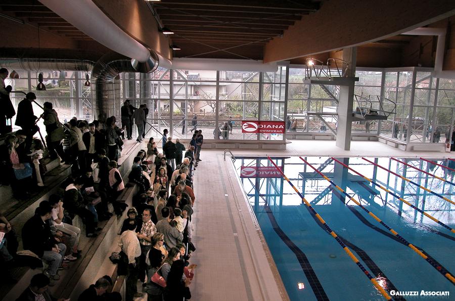 Galluzzi associati sport piscina olimpia coperta for Piscina olimpia colle telefono