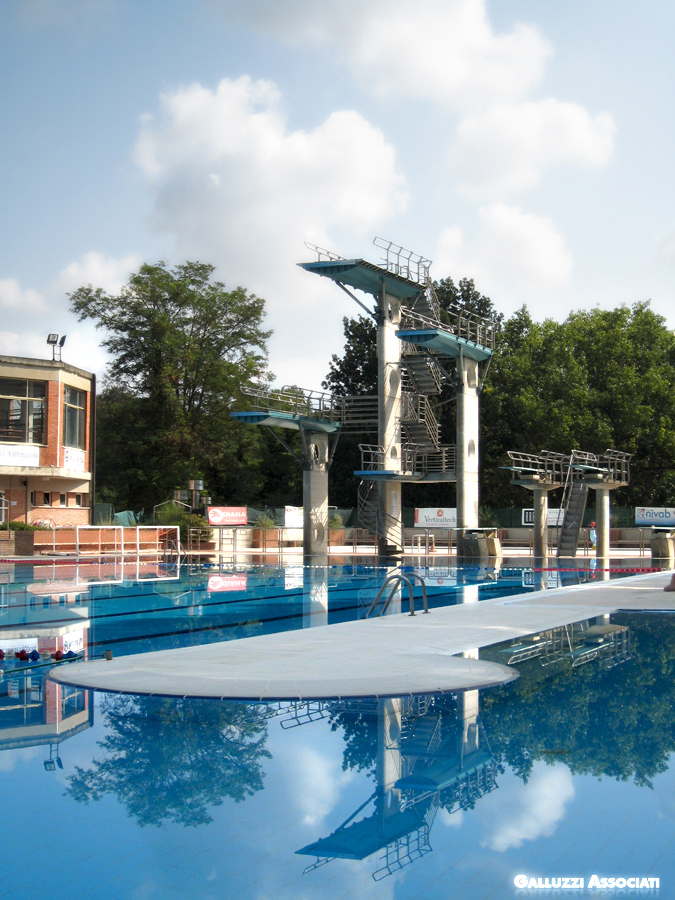Galluzzi associati sport piscina olimpia scoperta for Piscina olimpia siena